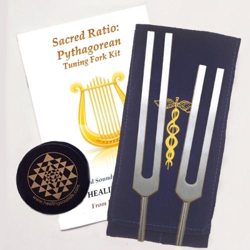 Sacred Ratio Pythagorean Tuning Forks Kit