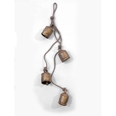 String of 4 Cowbells