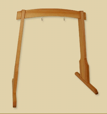 Harmony Wooden Gong Stand - 115 cm