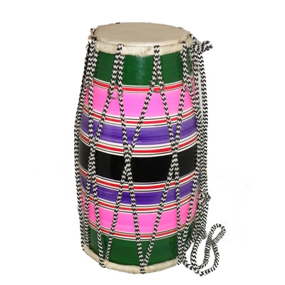 Large Fancy Dholak