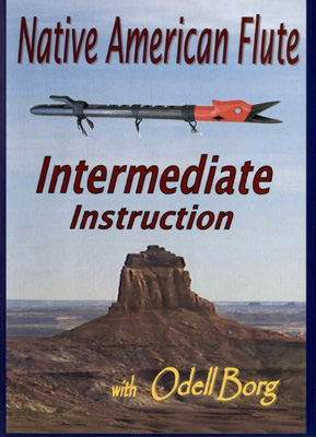 Native American Flute Intermediate Instruction - DVD