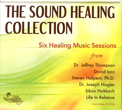 The Sound Healing Collection - Various - 6 CDs