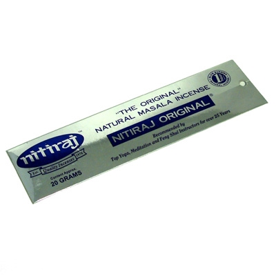 .Nitiraj Original Incense - 25g