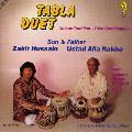 Tabla Duet - Zakir Hussain and Ustad Alla Rakha