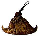 Engraved Burmese Spinning Gong - 12 cm