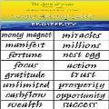 Water Blessing Labels - Prosperity