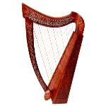22 String Rosewood Celtic Harp