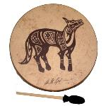 Remo Buffalo Drum - Lone Coyote- 16 Inch