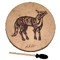 Remo Buffalo Drum - Lone Coyote- 22 Inch