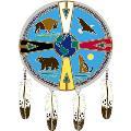 Window Transparency - Native Visions - Medicine Wheel