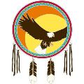 Window Transparency - Native Visions - Flying Eagle
