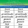 Water Blessing Labels - Love and Gratitude