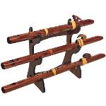 Triple Flute Eco Stand