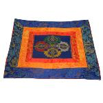 Silk Brocade Temple Cloth - Double Dorje 42 cm