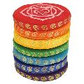 Singing Bowl Cushion Set 7 Chakras - Small