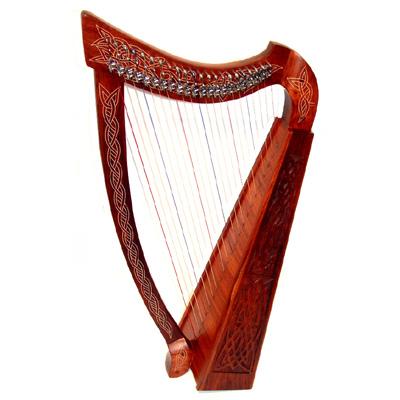 22 String Rosewood Celtic Harp